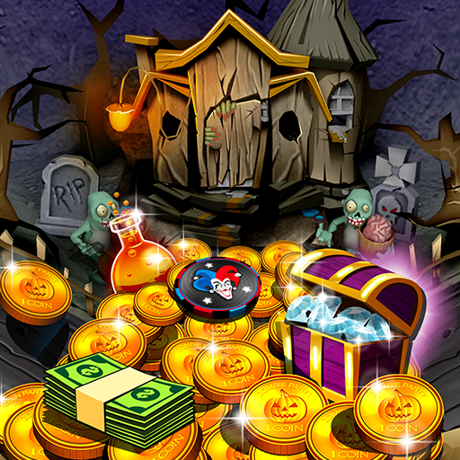 Haunted Halloween Coin Pusher 博奕 App LOGO-APP開箱王