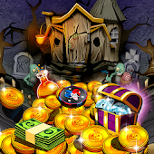 Haunted Halloween Coin Pusher
