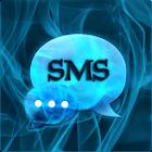 蓝烟主题GO SMS PRO icon