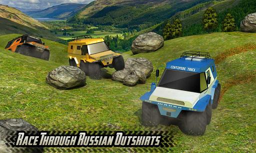 Offroad 8 Wheeler Russian Truck Racing Outlaws 3D 1.2 Mod screenshots 4