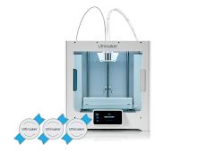 Ultimaker S3 3D Printer - 3 Year Warranty, 2 Spools Tough PLA