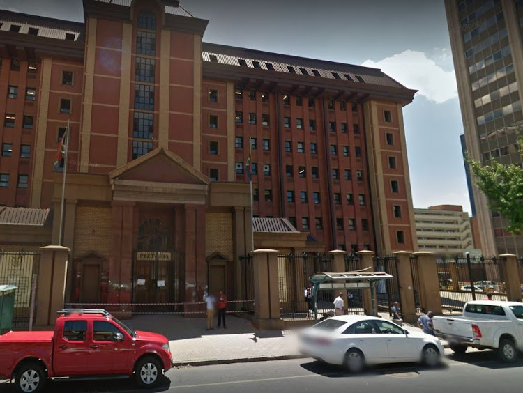 The Pretoria High Court.