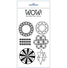 WOW Clear Stamps 4X5.75 By Maya Isaksson - Sparkle & Shine UTGÅENDE