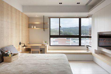 Bố trí không gian làm việc ngay tại phòng ngủ của bạn sẽ giúp bạn thoải mái hơn