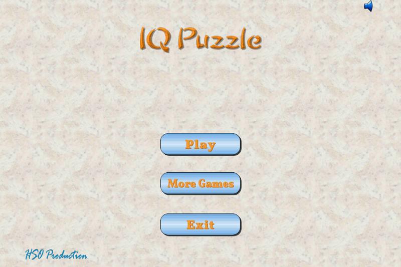 Скриншот IQ Puzzle
