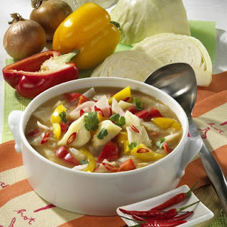 Cabbage Soup With Chili.