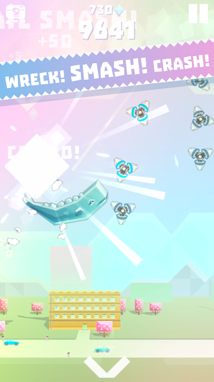 Ookujira - Giant Whale Rampage- screenshot thumbnail
