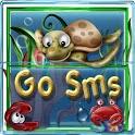 GO SMS PRO THEME FUNNY AQUARIUM icon