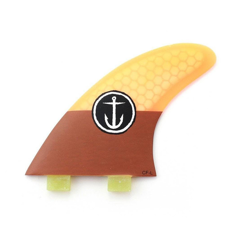 CAPTAIN FIN - CF LARGE (TWIN TAB) Surf Fins