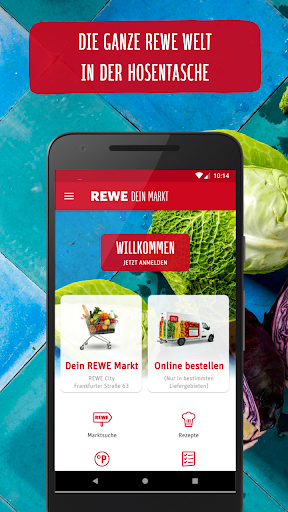 REWE - Online Shop & Märkte screenshot 1