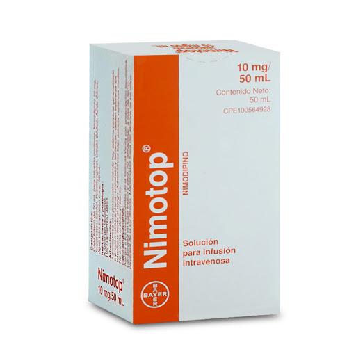 nimodipina nimotop 50ml solución inyectable bayer