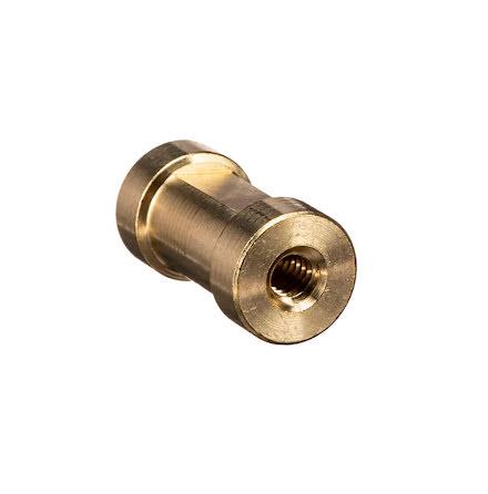 """Spigot short, 16 mm 1/4"""" Female - 3/8"""" Female"""