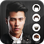 Men Hairstyle Set my Face icon