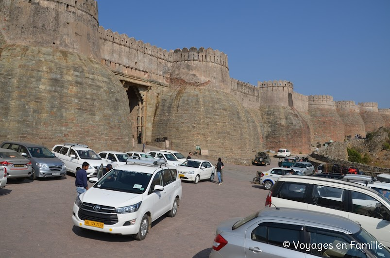 Parking Kumbhalgarh