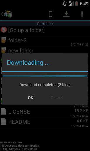 AndFTP screenshot 4