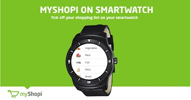 Screenshot of myShopi
