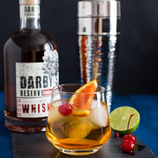 Triple Citrus Whiskey Sour.