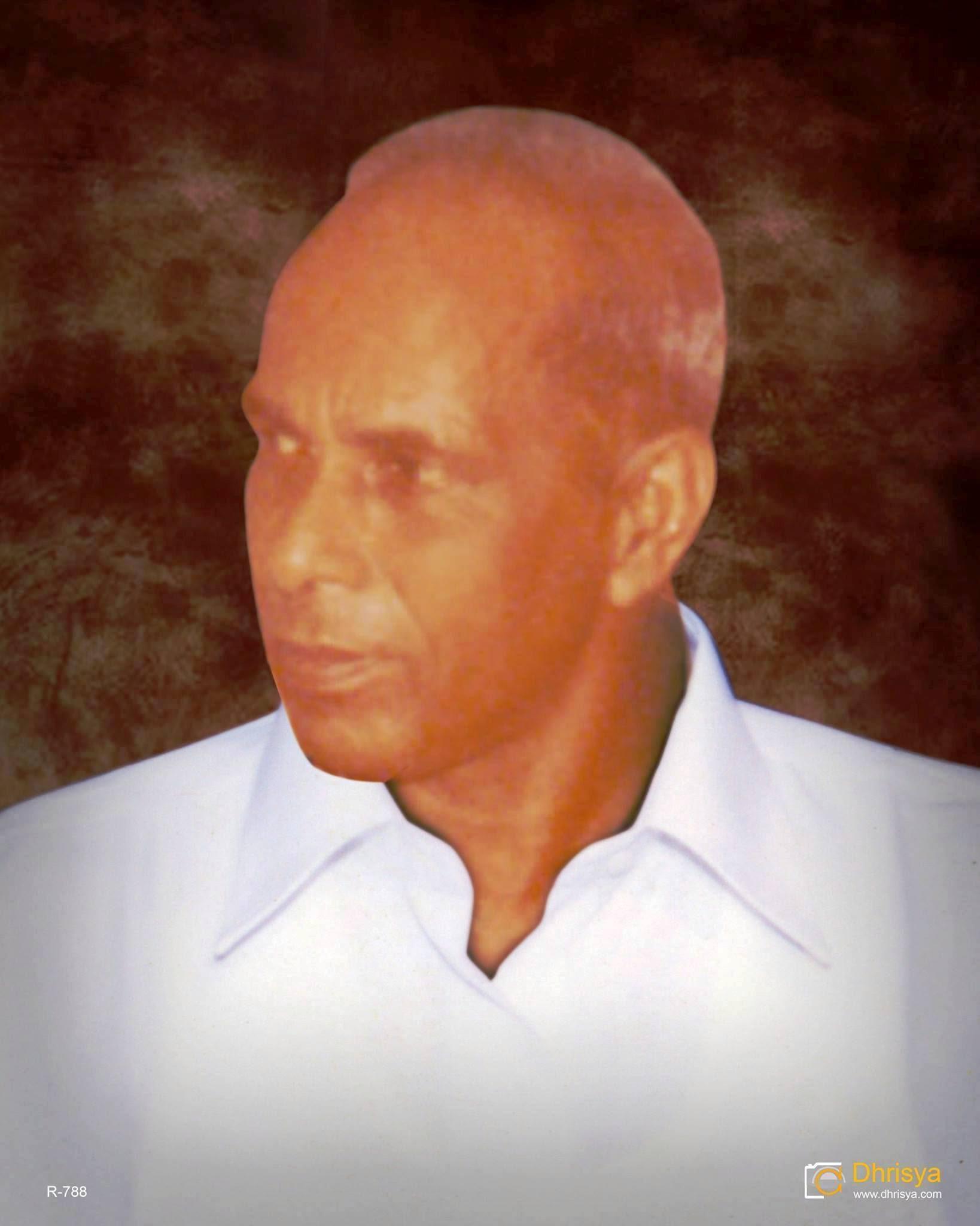 Photo: my passed away grandfather: sri Kunjukunju vilayil ayathil Panicker Muthalali