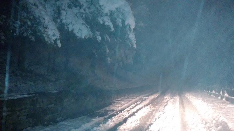 Nebbia e Neve nella Notte di Bobo