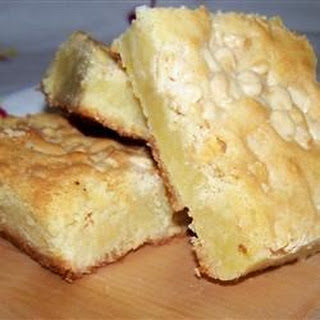 White Chocolate Blondie Brownies