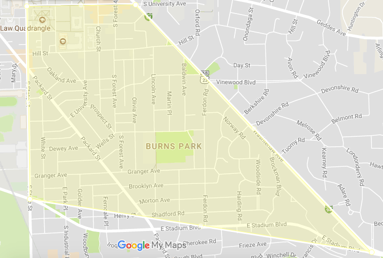 Ann Arbor Neighborhood Guides Burns Park Cribspot