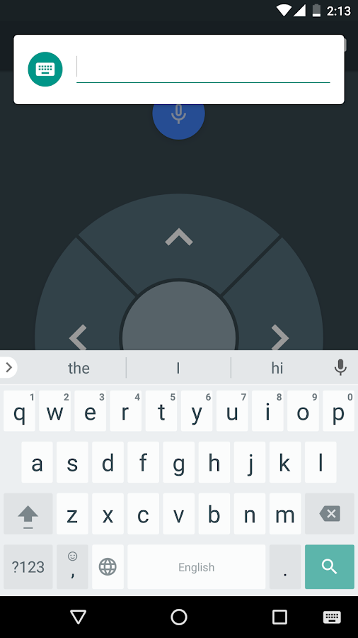 Android TV Remote Control- screenshot