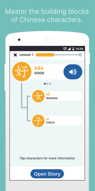 Learn Chinese with Zizzle- screenshot