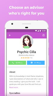 Zodiac Touch Psychic Reading- screenshot thumbnail