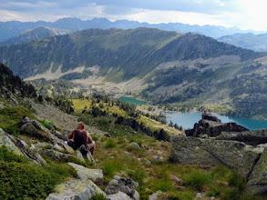 Photo: Coll d'Airoto, 2500m, il bivacco è alle spalle, si prosegue.