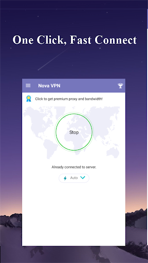 Nova VPN -  Free, no block & lightning speed 1.0.11.1229 screenshots 1