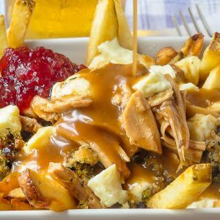 Turkey Poutine - ultimate Thanksgiving leftovers!