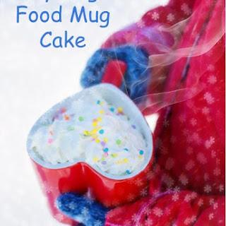 Easy Angel Food Mug Cake
