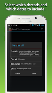 Email Text Messages- screenshot thumbnail