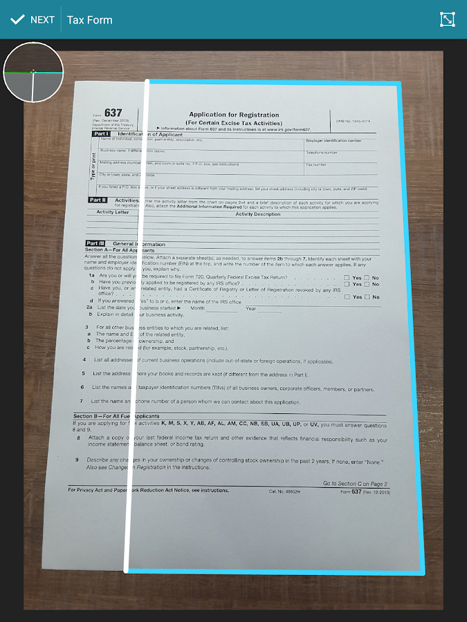 Quick PDF Scanner FREE- screenshot
