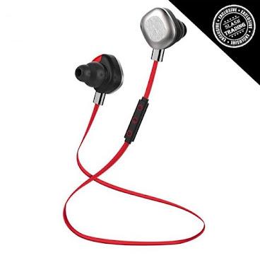 2015 最新推出 MORUL IPX7 防水運動藍牙耳機 Bluetooth Headset U5 PLUS  出街仲用有線耳機條條fing?😨用藍牙耳機方便好多架!連接方便,又可長時間用,做運動勁方便! 📣運動型HIFI,Super bass低音加強版,音質更有保證 📣設有NFC連接功能,用手機一拍即連接 📣IPX7防水,非常適合戶外運動使用,防水能力達到浸係水杯度都唔會壞 📣賣點:雙電池加磁石設計(續航能力高達10小時!)非使用時更可將耳塞互相貼上,非常方便 📣帶有APT-X lossless 無損音質技術 📣配備耳勾,將耳塞穩固並防止脫落,為運動用家而設 📣支援ios及android設備(可通話) 📣藍牙版本:4.1 📣通話及音樂播放時間:高達10小時 📣具防汗功能 📣有紅色、黑色兩色可揀 📣香港行貨 一年保養  原價$499,現特價只售$350  產品查詢:  公司:Slash Trading Company 門市地址:香港新界葵昌路9-15號貴豐工業大廈14字樓A10室(敬請預約) whatsapp: 54055769 Slash Trading Email: info@s