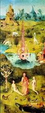 Image result for garden of earthly delights first panel