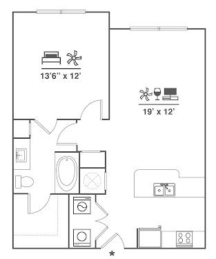 A1-ALT Floorplan Diagram