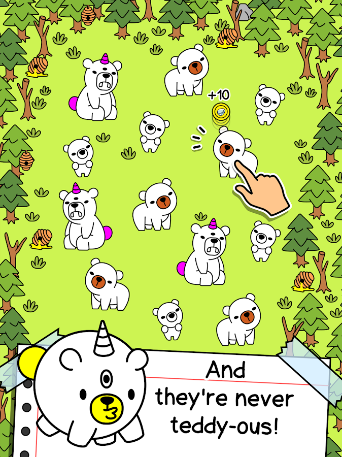 Bear Evolution - UnBEARably Fun Clicker Game- screenshot