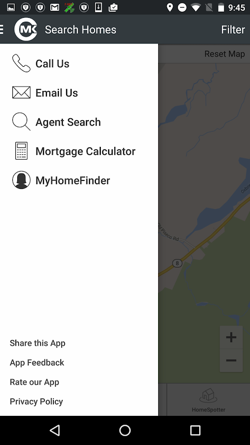 CMK and Associates Real Estate- screenshot