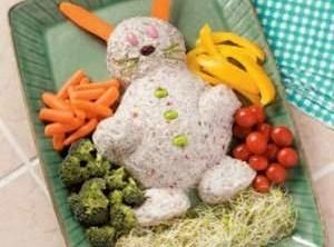 Easter Bunny Cheese Spread Recipe