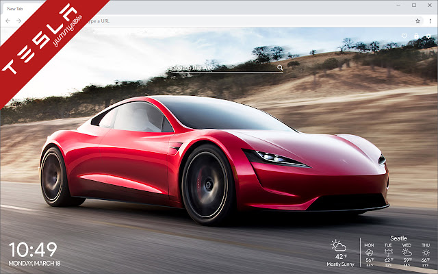 Tesla New Tab