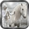White Pony Live Wallpaper icon