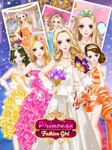 Gorgeous Royal Prom-Dream Dressup Games