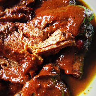 Chile Ancho Braised Beef in the Slow Cooker Recipe