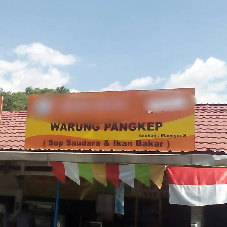 Warung Pangkep Sop Saudara Kantor Pos Pasar Baru No 7 Asuhan H Mansyur Rumah Makan