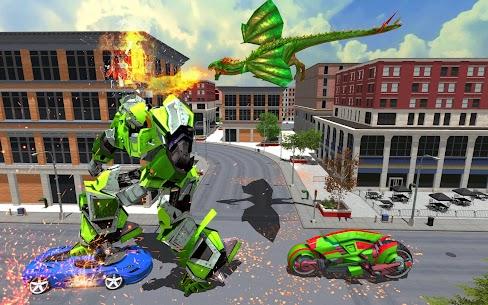 Flying Fire Dragon Robot Transform Bike Robot Game 1