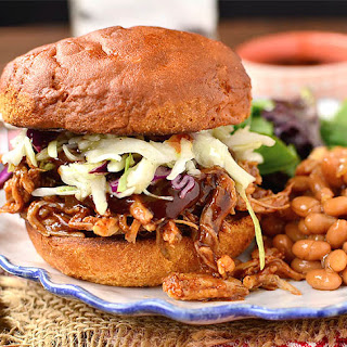 Crock Pot BBQ Pulled Pork.
