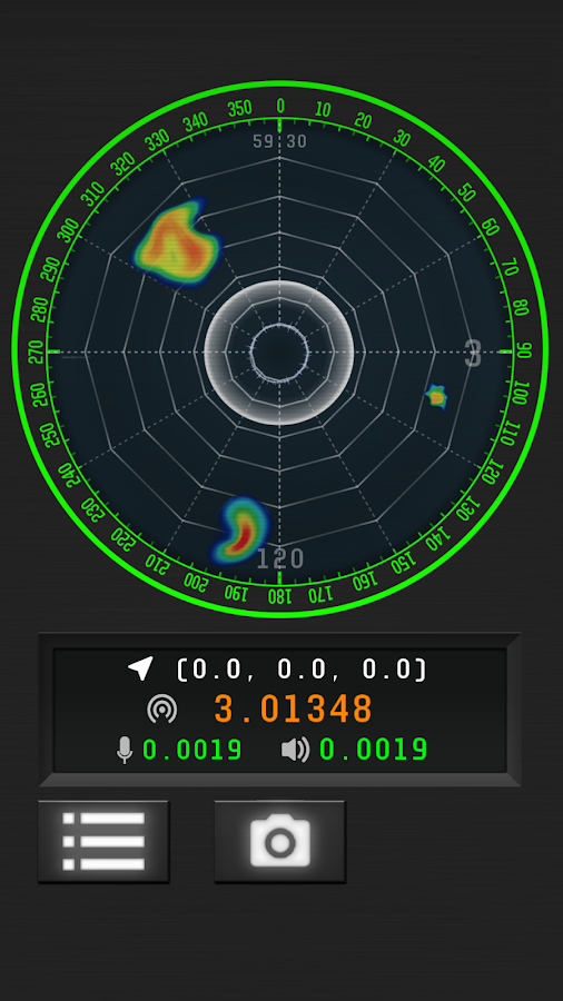 Ghost Sonar (Ghost Detector)- screenshot