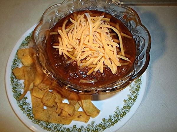 Chili - Homemade!!! Recipe
