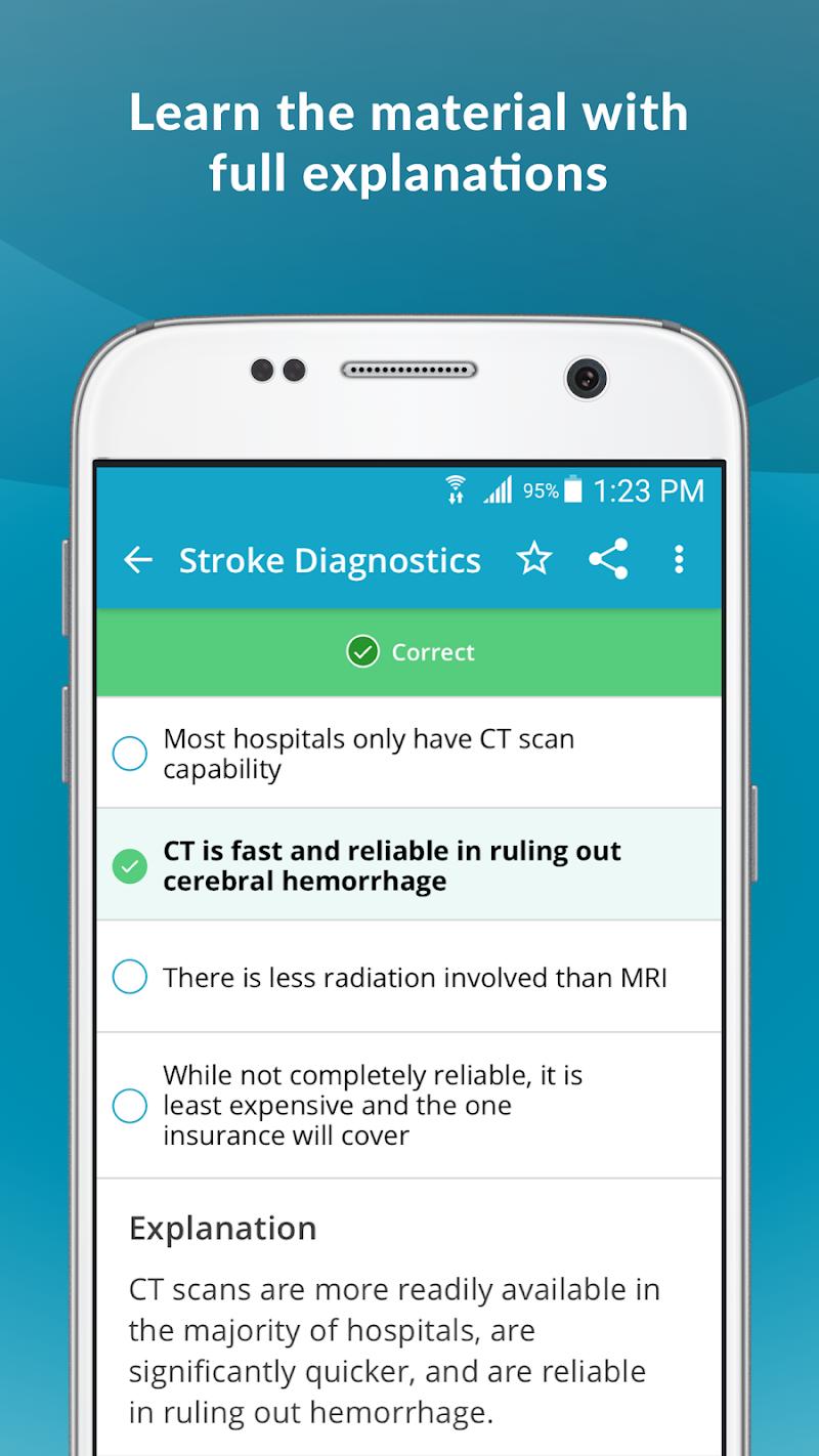 Скриншот Stroke Certified Registered Nurse Study Guide